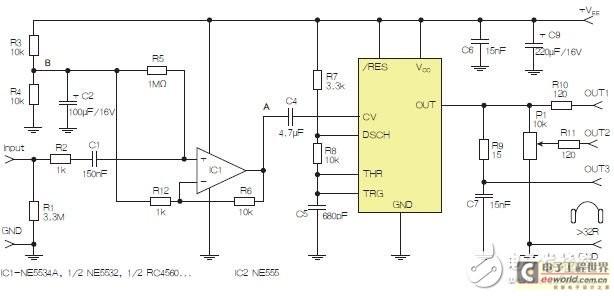 基于555定时器的D类耳机驱动器电路设计