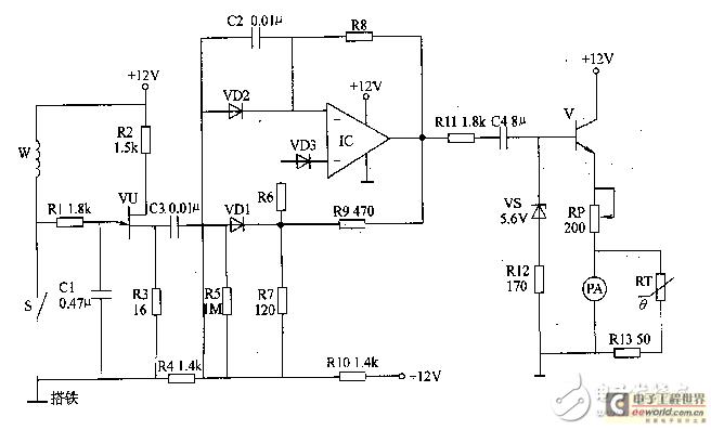 汽车发动机转速表电路设计
