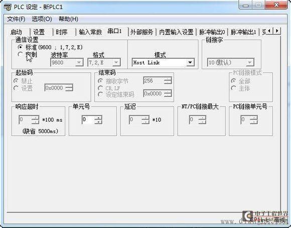 威纶触摸屏与欧姆龙cj,cs,cp系列plc通讯示例