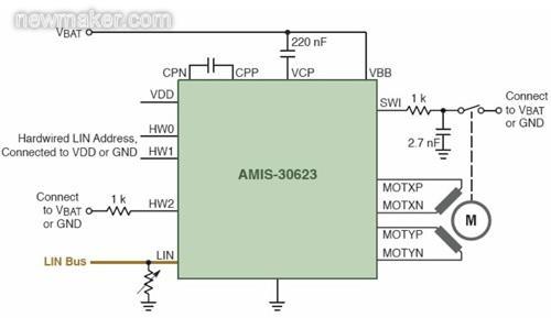 安森美半导体汽车前照灯和尾灯典型应用方案